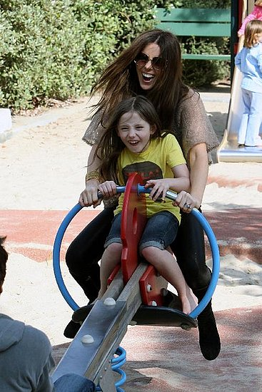 Kate Beckinsale and Lily Are Sassy at the Park